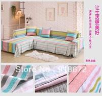 the whole 100% rustic cotton fabric three sofa cover set full 200cm*300cm