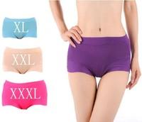 Hot Sale! Free Shipping! 10pcs/lot Lady Briefs Shorts Womens Panties Underwear XL,XXL,XXXL