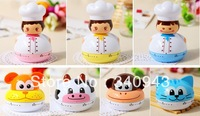 Free Shipping 3352 cartoon kitchen timer mechanical timer alarm clock reminder