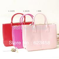 2015 Candy Colors Elegant Fashion Brief Pu Tote Handbag Casual Woman Desigual Messenger Bags