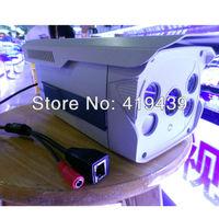 IPS 720P H.264 Waterproof 6mm Outdoor 4pcs Array LED IP Bullet Security Cameras