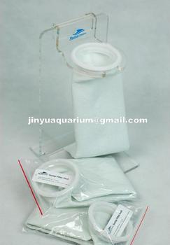 "4""x15""Aquarium Sump Micron Felt Pre Filter Sock Bag Free Shipping"
