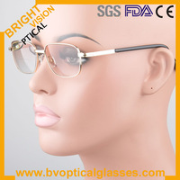 Free shipping rimless titanium reading eyeglasses 5185 with high quality