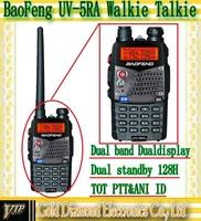 Baofeng UV-5RA 128CH UHF+VHF DTMF VOX Metal 2-way Radio WalkieTalkie interphone 2pcs/lot Free shipping