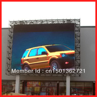 big size static scanning high brightness P25 outdoor full color led display board/full color led board/full color led display