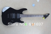 2014 new arrival + free shipping + guitar factory + black ESP custom shop KH2 electric guitar LTD KH-2 with floyd rose tremolo !