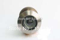 China High Quality Brass Door Viewer  200 degree Peep hole Big Size Satin Nickel