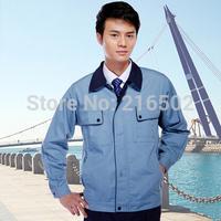 FREE SHIPPING work wear set male tooling uniform customize lf-102 long-sleeve mechanic jacket and engineer jacket