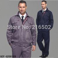 FREE SHIPPING Set of Jacket+ Pants engineering uniform auto repair uniform mechanic uniform electrician uniform