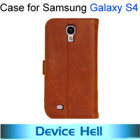 Vintage retro Stand Leather case for Samsung Galaxy SIIII S4 Wallet stand case cover for Samsung Galaxy i9500 +Free shipping