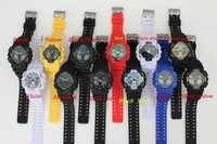 2014 Men watch Led watch Display  Unisex watch ga100 digital watch 12color 10pcs/1lot Free shipping