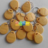 20pcs/lot EM4305 125Khz RFID Writable Rewritable Proximity ID Token Tag Key Keyfob keychain