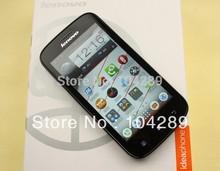 Free Shipping Original Lenovo A760 854×480 Qualcomm MSM8625Q Quad Core Android 3G Smart Moblie Phone GPS Bluetooth Cell phones
