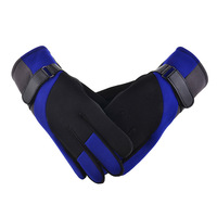 new 2013 Free shipping autumn winter Cold plus velvet thick warm gloves, men's cycling gloves Cotton Flax slip Mittens wholesale
