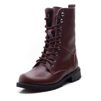 Free shipping 2013 newl Europe leather ace motorcycle boots