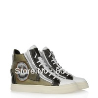 2013 Fashion Womens Designed Cowhide Leather Casual Sneakers Ankle Boots