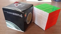 New Magic cube 4x4 Diansheng  6 Color Stickerless  Speed Cube(Not Dayan  )