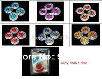 4pcs/set 1/10 RC Car accessories rc car parts Metal CNC Brake disc/brake dish  for 1:10 RC car  free shipping
