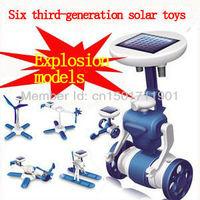 Wholesale - -Freeshipping! Third generation solar toys  DIY educational toys  Christmas gift