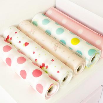 Home eco-friendly pet print drawer wardrobe pad dining table mat dust pad eat mat 7191 C-014