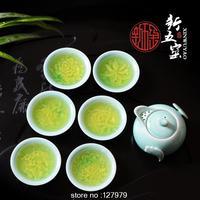 LongQuan porcelain tea set, Kung Fu Tea Set,Longquan celadon tea pot, Tea Set special offer, free shipping!!