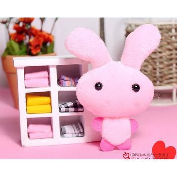 Free shipping C025 Supply BOBO rabbit pendant mobile phone chain plush boutiques selling wholesale Yiwu