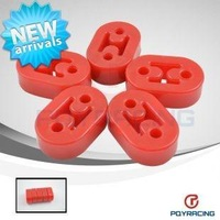 Red Polyurethane Exhaust/Muffler HANGERS 5pcs/lot universal type2