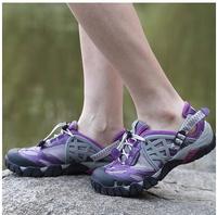 Free shipping women men  outdoor  walking shoes hiking shoes