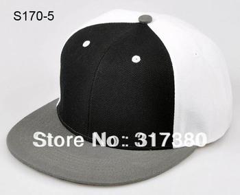 10pcs 2014 COOL 3 Tones Blank Men Flat Bill Snapbacks Hats Baseball Cap Womens Snapback Caps Mens Visor Hip Hop Women Sports Hat