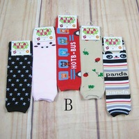 Free Shipping 2pairs/Lot Babies Kid Leg Warmers Multifunction For Baby Knee Warmer Long Socks Arm warmers 34*10cm,  CL0236