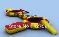Hot sale 0.9PVC  inflatable water trampoline, inflatable bounce