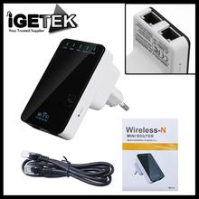 Ponte Wireless- N Router AP Repetidor impulsionador WIFI Amplificador Cliente LAN IEEE 802.11 b / g / n 300Mbps Plug Adapter UE(China (Mainland))