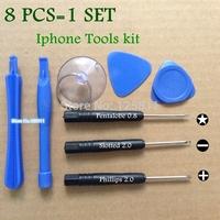 New Repair Opening Pry Screwdriver phone Tools Kit Set Fit for iPhone htc nokia Samsung LG Motorola free shopping fdx+Retail bag