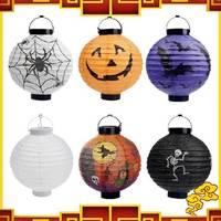 Free Shipping 5pcs/lot Halloween Lantern Decoration Jack Pumpkin Paper Lantern CCC Festival Lamp Several Kinds for Choice