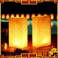 Free Shipping 20pcs/lot Wedding Decoration DIY Handmade Paper Lantern Holiday Decoration Candle Bags
