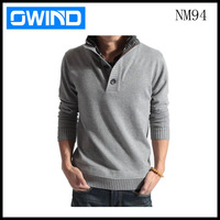 Hot selling man's cotton Pullovers sweater knitwear, jersey NM94