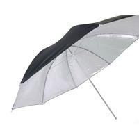 "33"" 83cm Photograph Video Studio Lighting Translucent Silver flash soft umbrella Black"