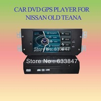 Car DVD with GPS  for Nissan Teana ( before the year of 2008) supporting the original car with screen and front camera)