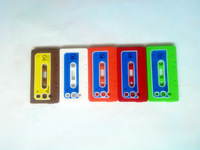 Cassette Tape Style Soft Silicone case Silicon cover skin for Samsung Galaxy S3 I9300 SIII