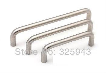2pcs 128mm Simple European Stainless Steel Kitchen Furniture Hardware Dresser Drawer Handles Cabinet Knobs