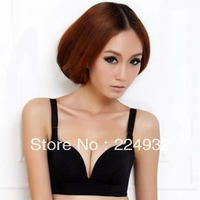 Free Shipping High Quality push up back closure Wire Free Comfortable Sleep Bra sexy bra sports bra 32-36 AB 2087B