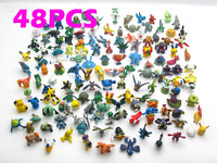 child toys 2013 Brand New Cute Lots 48pcs 2-3cm Pokemon mini random Pearl ct Figures