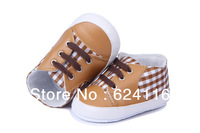 BX101 New Gift Spring Autumn Plaid Baby Shoes Toddler Shoes Infant Shoes Baby Girl Boys First Walker Shoes