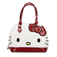 Free Shipping Fashion Kitty Designer Handbags For Women Bowknot Decorated Sweet Totes High Quality