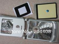 10pcs,Full mobile phone faceplates for motorola v3/v3i housing cover case+ keypad spare parts brand new,free shipping
