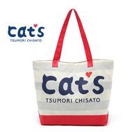 Hot selling 2014 Japan Cat shoulder bag waterproof beach bag shopping woman travel massenge bag lady fashion shopping