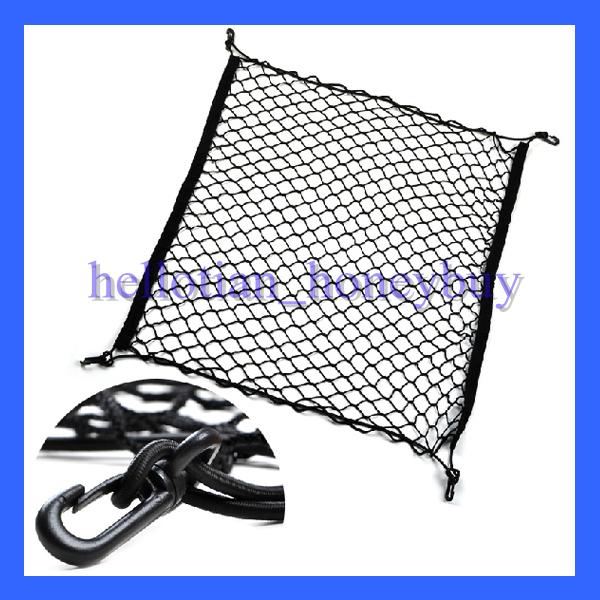 Net Storage Trunk Storage Elastic Mesh Net 4 Hooks Fit For Honda CRV