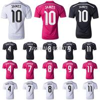 14 15 real madrid HOME white soccer jersey thiland quality cristiano ronaldo #7 football uniform t shirt  2014