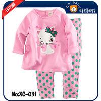 Cartoon children pajamas christmas girls princess clothing sets baby girl sleepwear toddler infant homewear child night clothes