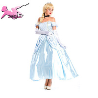 costumes Elegant Sleeping Beauty Snow White maxi Dress princess cosplay Fancy Ball Clothing halloween costumes for women XHS001